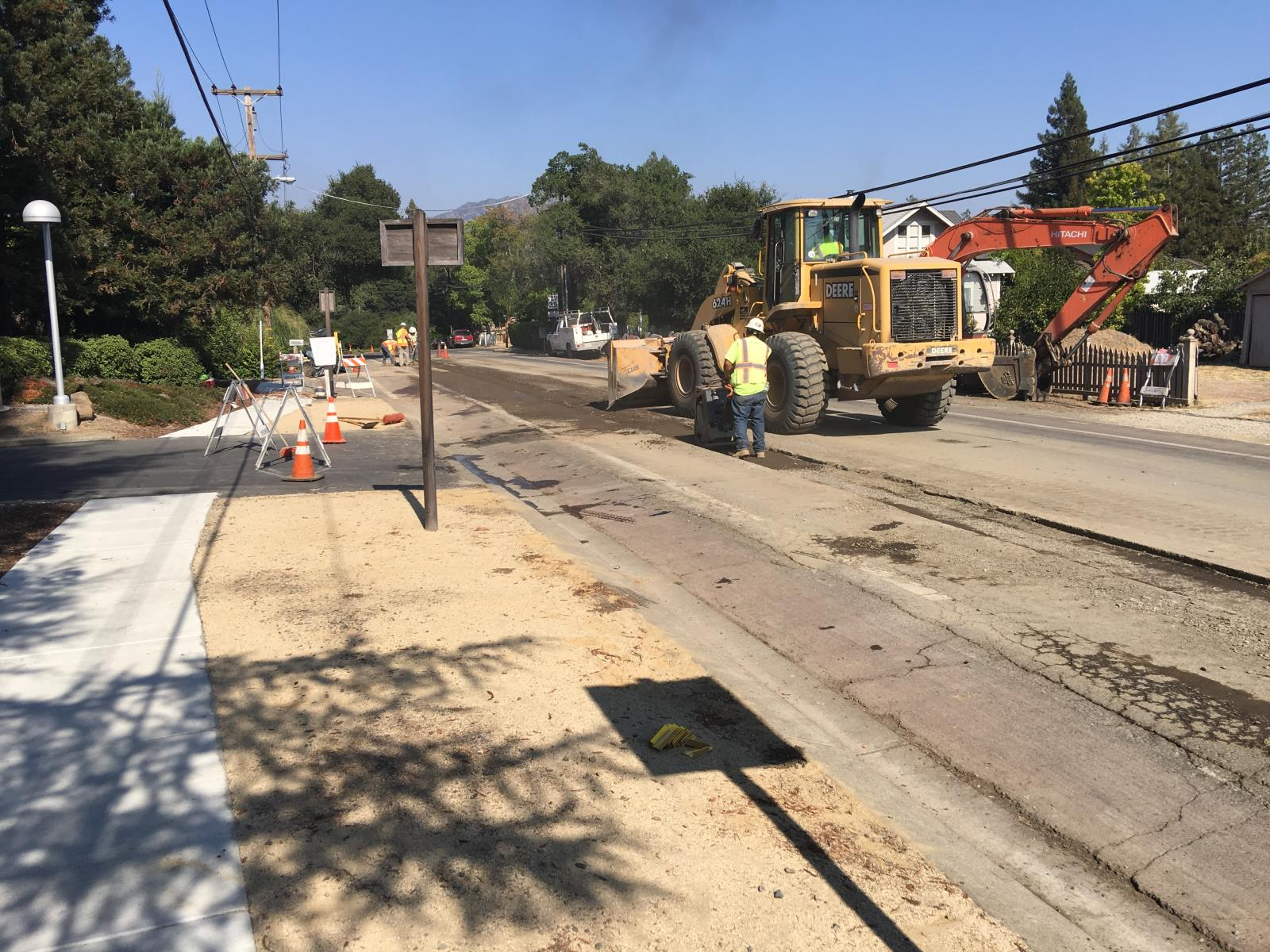 Yountville Crossroad Reconstruct