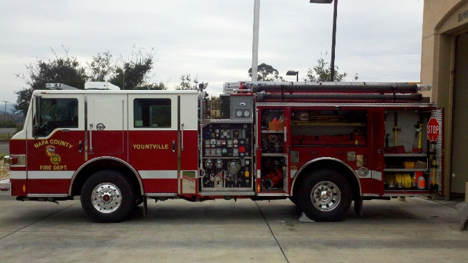 truck apparatus side